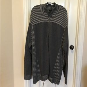 Calvin Klein Full zip men's sweater